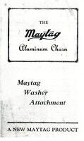 Maytag Butter Churn Gas Engine Motor Model 92 72 82 Cylinder Book Manual Washer