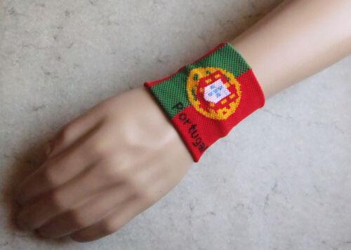 wristband sweat band Bande poignet élastique éponge sport /& mode Portugal