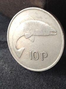 Ireland Eire 10p pre Euro ten pence coin Free uk  pampp - Belfast, United Kingdom - Ireland Eire 10p pre Euro ten pence coin Free uk  pampp - Belfast, United Kingdom