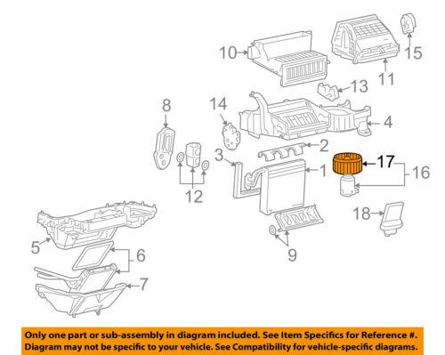 GM OEM Evaporator Heater-Mount Plate 15844347