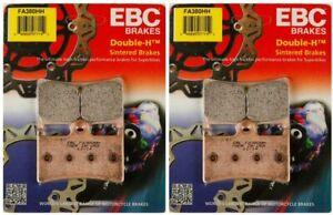(2 Packs) EBC FA380HH Double-H FRONT Sintered Brake Pads - Yamaha R1 R6 YZF FZ1