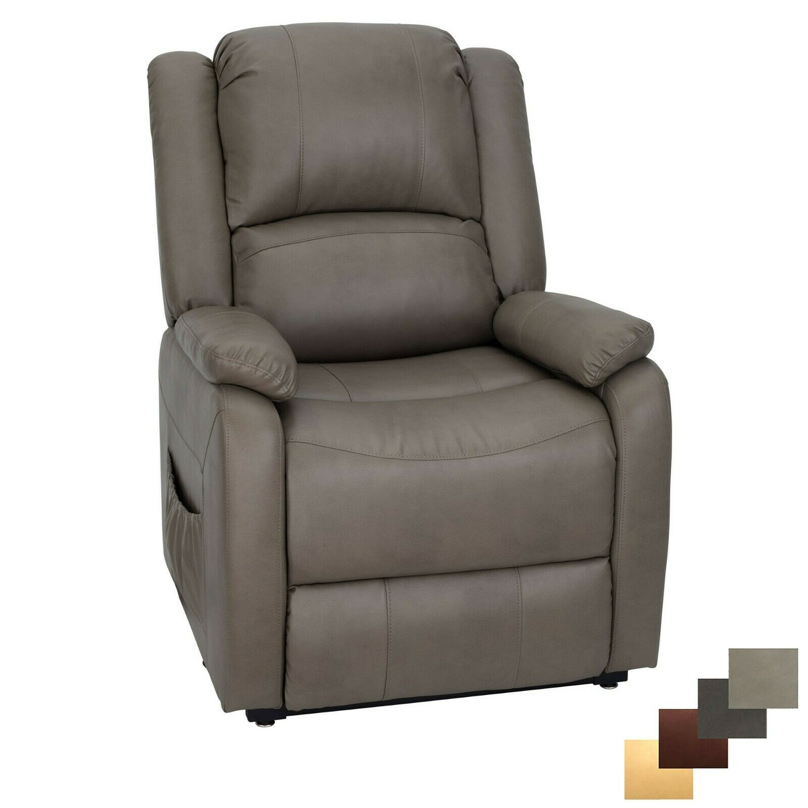 RecPro Charles 30  RV Handicap Power Lift Chair   RV Furniture   Putty