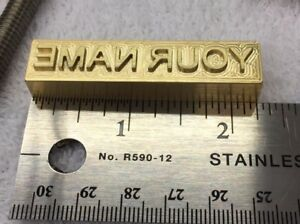 HEAD-ONLY-1-2-034-BRASS-1-4-034-TALL-CHARACTERS-BRANDING-IRON-FOR-WOOD-LEATHER