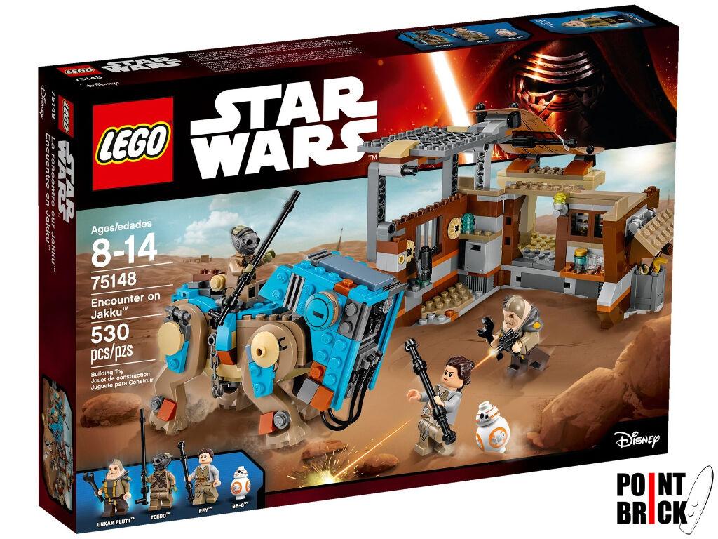 LEGO 75148 STAR WARS The Force Awakens L'Incontro su Jakku