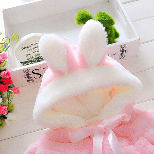 Kids Baby Infant Girls Autumn Winter Hooded Coat Cloak Jacket Thick Warm Clothes