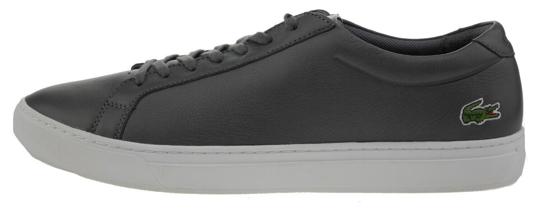Lacoste L12121161 Zapatillas Piel gris Oscuro 187868