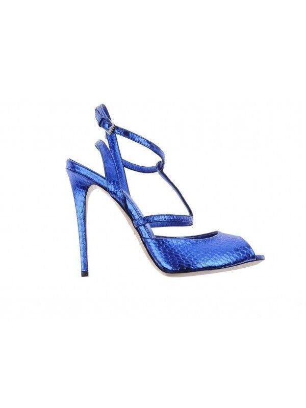 Le Silla sandalo donna laminato blu (45LS)  OFFERTA ULTIMO PAIO (45LS) blu d2ce50
