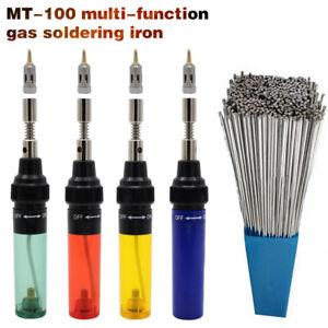 Welding-Pen-Burner-Blow-Torch-Gun-amp-10PCS-Aluminum-Welding-Brazing-Rod-A4