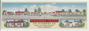 1941-Linen-Koronado-Kourts-Motel-Joplin-MO-Doublewide-US-66-Missouri