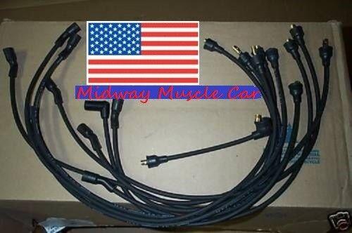 3-Q-68 dated plug wires 69 Cadillac Deville Eldorado 472 1969