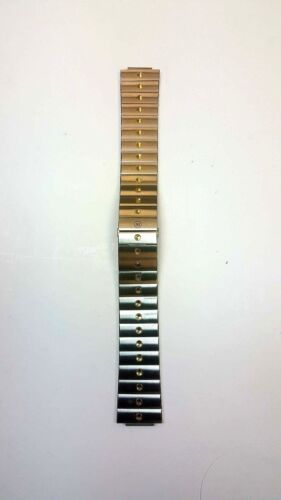 20mm Movado Two-Toned Stainless Steel Band
