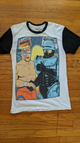 Sting Robocop Small Shirt AEW WCW WWE wrestling El
