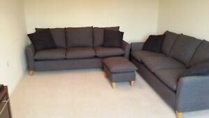 Image Is Loading Linea Capri Sofas Amp Footstool From House Of