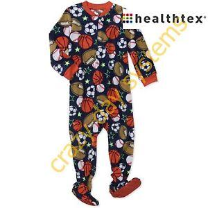 a0f8aafec Healthtex Fleece Footed Blanket Sleeper ZIP Pajamas Long Sleeves 4T ...