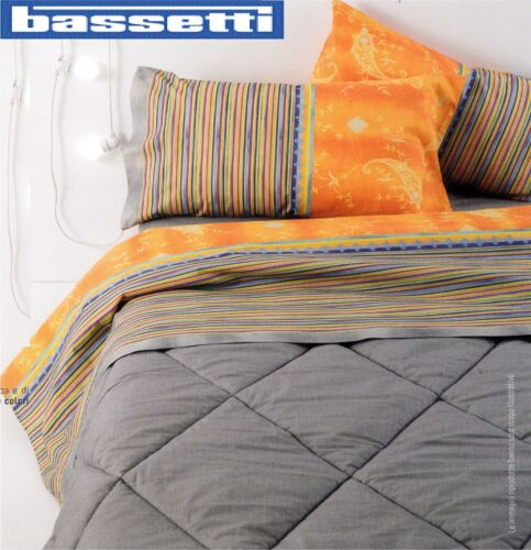 Bassetti Dream-Thuja Complete Sheets 100/% Cotton Single and double bunk.