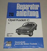 Reparaturanleitung Opel Kadett C - Baujahre 1973 bis 1977!