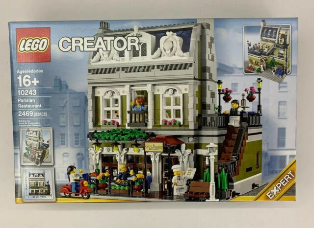 LEGO Creator Parisian Restaurant 10243 - NEW in Factory SEALED Box Retired City