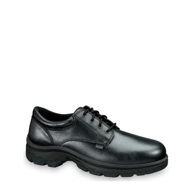 Thorogood Softstreets 834-6907 Men/'s Black Leather Moc Toe Oxford Shoes