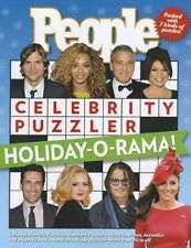People Celebrity Puzzler : Holiday-O-Rama! by People Magazine Editors (2012, Paperback, Special)