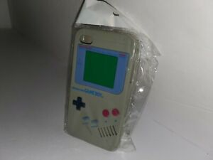 NEW-Gray-Silicone-Gameboy-Original-Style-Case-Cover-for-Apple-iPhone-4-4S-A42