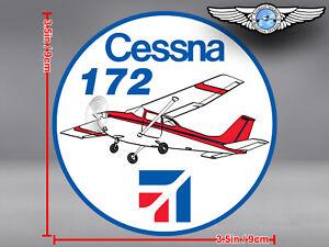 CESSNA-172-C172-ROUND-DECAL-STICKER