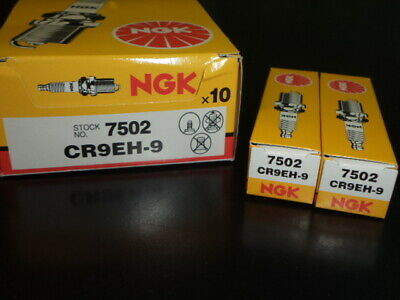 HONDA CRF150R CRF150 CRF 150R IGNITION ENGINE SPARK PLUGS NGK CR9EH-9