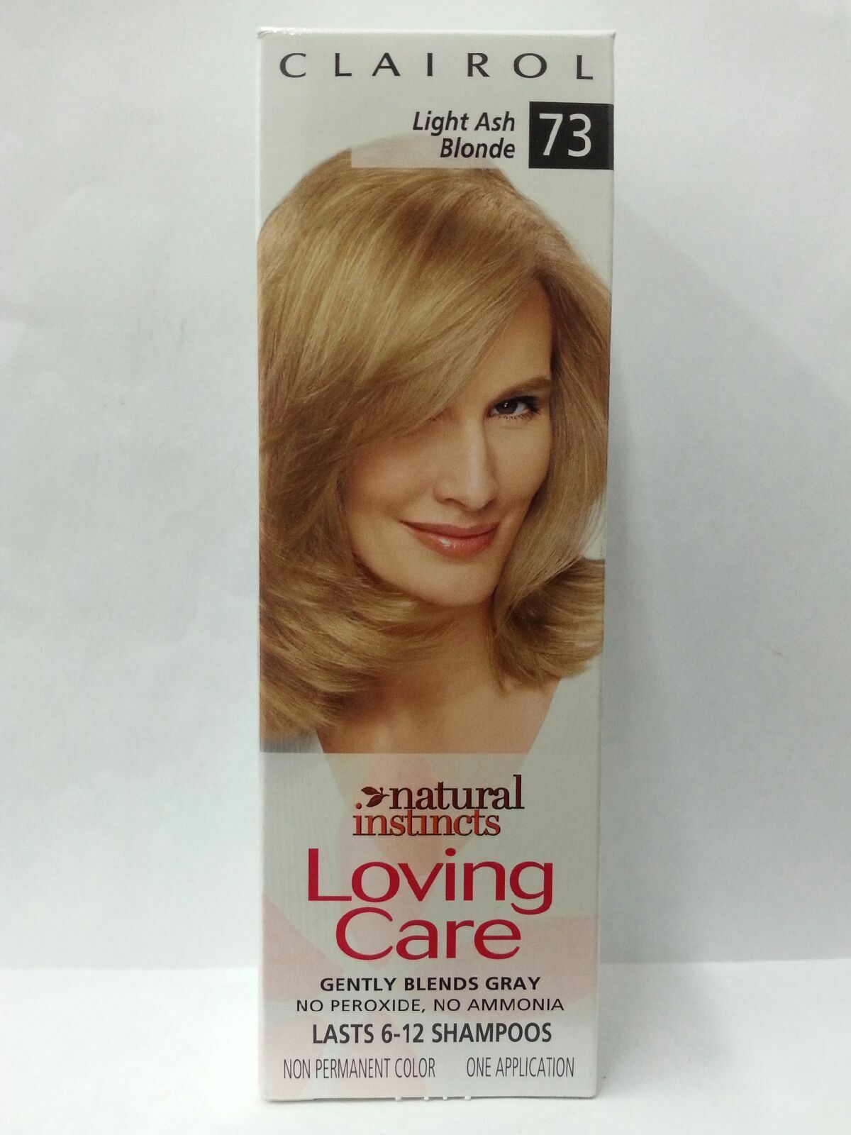 2 Clairol Loving Care Light Ash Blonde 73 Natural Instincts Hair Color Htf