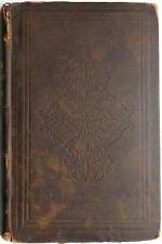 1850 RARE David Copperfield 1ST US ED Charles DICKENS Book STRINGER & TOWNSEND