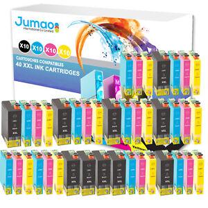 Lot-de-40-cartouches-d-039-encre-Jumao-compatibles-pour-Epson-Stylus-Office-BX635FWD