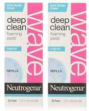Neutrogena Wave Deep Clean Foaming Pad Refills, 30 Count (2 Pack)