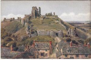 Postcard-CORFE-CASTLE-Ref-C1