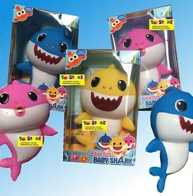 BABY SHARK SET 8 PERSONAGGI PINKFONG ACTION FIGURE NEWS SQUALI DANCE NOVITA NEWS