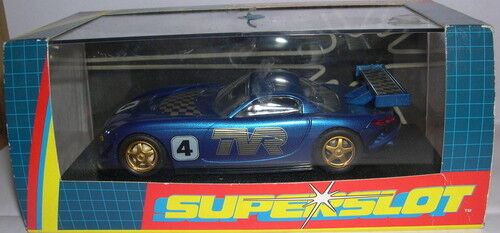 SUPERSLOT H2248 TVR blueE SPEED 12 SCALEXTRIC UK MB
