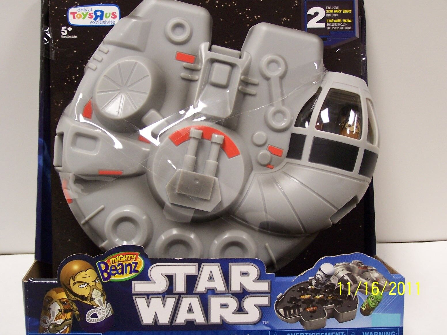 Estrella Wars Millenium Falcon casos poderoso Beanz - 2 (dos)