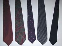George, Puritan, Bonpoint, Van Heusen, Hunting Horn Men's 100% Silk Ties