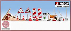 H0-escala-1-87-ho-figuras-modelismo-maqueta-trenes-Noch-14805-carreteras-routes