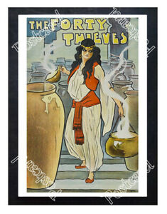 Historic-039-The-Forty-Thieves-039-1900-Advertising-Postcard