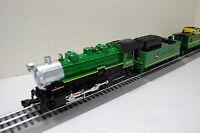 Lionel 6-83286 John Deere Steam Engine/ Tender & Caboose on sale