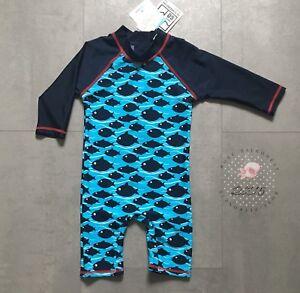 billigsten Verkauf das Neueste Sortenstile von 2019 Details zu Topomini Badeoverall Kinder Baby UV 60 Overall Blau Strand  Urlaub Gr. 86 Neu