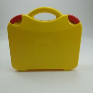 LEGO Large Yellow Head Storage Container w//Trays Carrying Case FREE SHIPPING