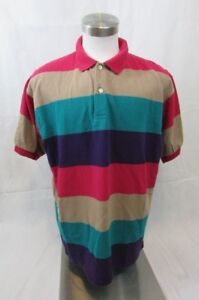 OshKosh-B-039-Gosh-Men-039-s-XL-Pullover-Polo-Short-Sleeve-Shirt-Multi-Color-NWOT