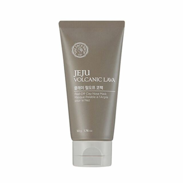 THE FACE SHOP Jeju Volcanic Lava Peel-Off Clay Nose Mask 50g