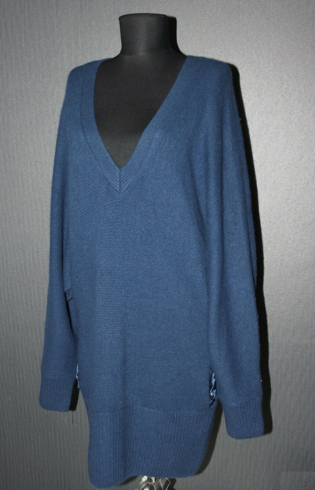 Tiger of Sweden womens wool angore long jumper sweater Size M