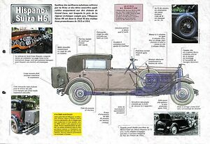 Hispano-Suiza-H6-B-Limousine-Luxe-France-Retro-1920-Car-Auto-FICHE-FRANCE