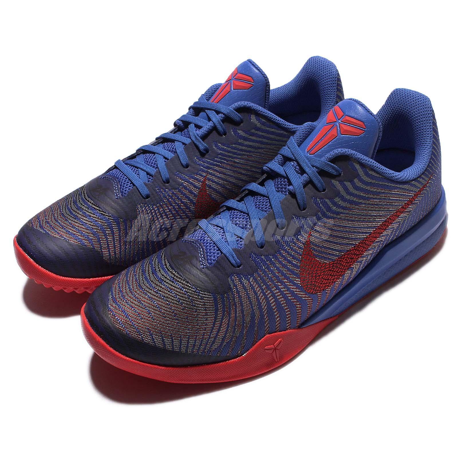 f6fc107e7a1f Nike KB Mentality II EP Kobe Bryant Blue Red Mens Basketball Shoes  818953-402 on