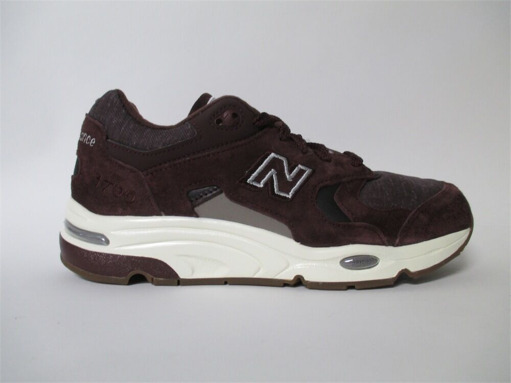 New Balance 1700 Made in USA Explore the Sea Burgundy Brown White 10 M1700DEA