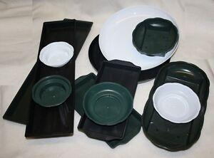 single-plastic-florist-flower-bowl-foam-tray-dish-wedding-churches-ALL-SORTS