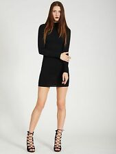 AOTC SALVIA FITTED TURTLENECK DRESS SMALL