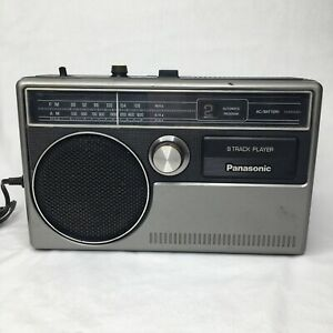 Panasonic 8 Track Player Radio For Parts Only