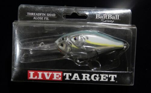 KOPPER/'S LIVE TARGET LURES SIZES COLORS Metallic or Chartreuse
